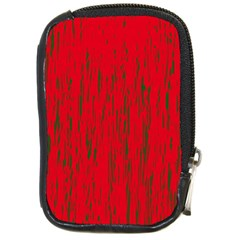 Decorative red pattern Compact Camera Cases