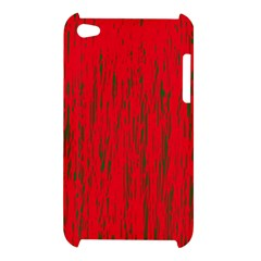 Decorative red pattern Apple iPod Touch 4