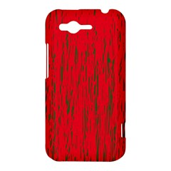 Decorative red pattern HTC Rhyme