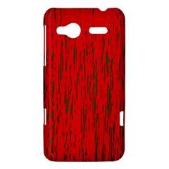 Decorative red pattern HTC Radar Hardshell Case