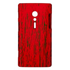 Decorative red pattern Sony Xperia ion