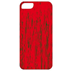 Decorative red pattern Apple iPhone 5 Classic Hardshell Case