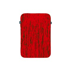 Decorative red pattern Apple iPad Mini Protective Soft Cases