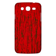 Decorative red pattern Samsung Galaxy Mega 5.8 I9152 Hardshell Case
