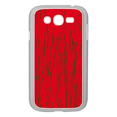 Decorative red pattern Samsung Galaxy Grand DUOS I9082 Case (White)