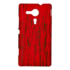 Decorative red pattern Sony Xperia SP