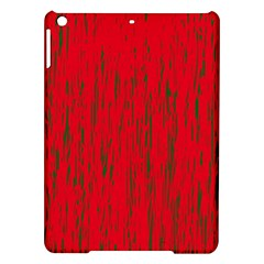 Decorative red pattern iPad Air Hardshell Cases