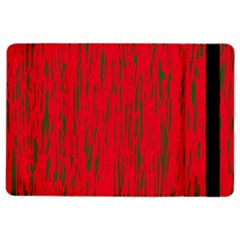 Decorative red pattern iPad Air 2 Flip