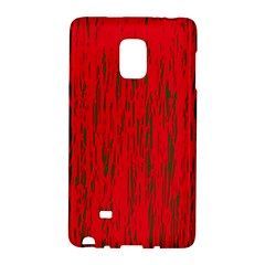Decorative red pattern Galaxy Note Edge