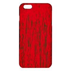 Decorative red pattern iPhone 6 Plus/6S Plus TPU Case
