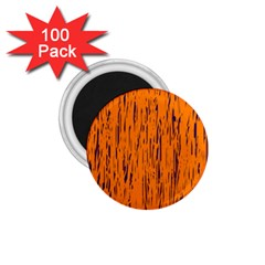 Orange pattern 1.75  Magnets (100 pack)