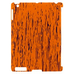 Orange pattern Apple iPad 2 Hardshell Case (Compatible with Smart Cover)