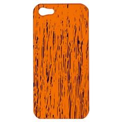 Orange pattern Apple iPhone 5 Hardshell Case
