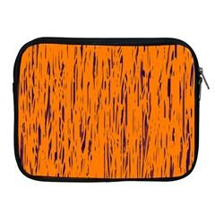 Orange pattern Apple iPad 2/3/4 Zipper Cases