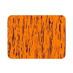 Orange pattern Double Sided Flano Blanket (Mini)