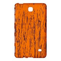 Orange pattern Samsung Galaxy Tab 4 (8 ) Hardshell Case