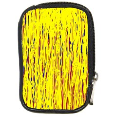 Yellow pattern Compact Camera Cases