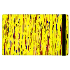 Yellow pattern Apple iPad 2 Flip Case
