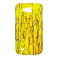 Yellow pattern Samsung Galaxy Premier I9260 Hardshell Case