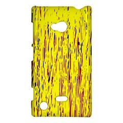 Yellow pattern Nokia Lumia 720