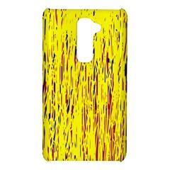 Yellow pattern LG G2