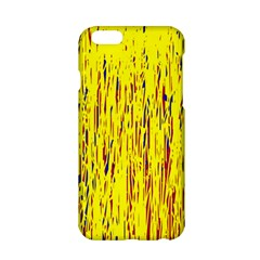 Yellow pattern Apple iPhone 6/6S Hardshell Case
