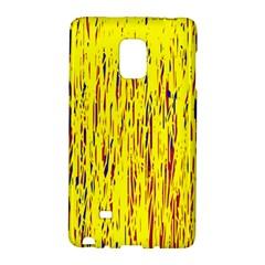 Yellow pattern Galaxy Note Edge