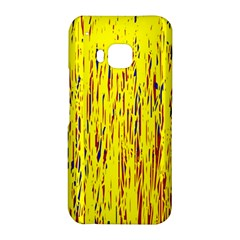 Yellow pattern HTC One M9 Hardshell Case