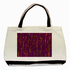 Purple pattern Basic Tote Bag