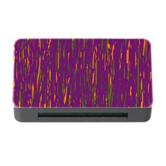 Purple pattern Memory Card Reader with CF