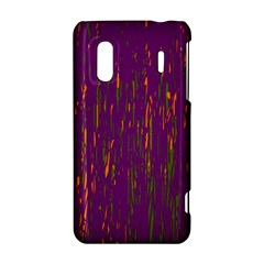 Purple pattern HTC Evo Design 4G/ Hero S Hardshell Case