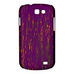 Purple pattern Samsung Galaxy Express I8730 Hardshell Case