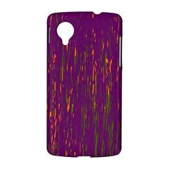 Purple pattern LG Nexus 5