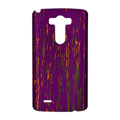 Purple pattern LG G3 Hardshell Case