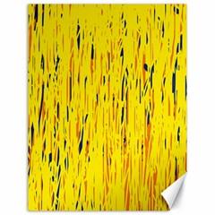 Yellow pattern Canvas 18  x 24