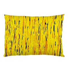 Yellow pattern Pillow Case