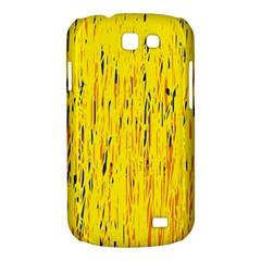 Yellow pattern Samsung Galaxy Express I8730 Hardshell Case