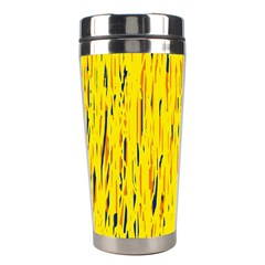 Yellow pattern Stainless Steel Travel Tumblers