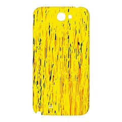 Yellow pattern Samsung Note 2 N7100 Hardshell Back Case