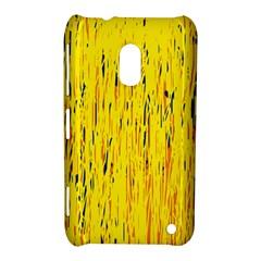 Yellow pattern Nokia Lumia 620