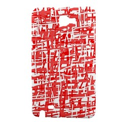 Red decorative pattern Samsung Galaxy Note 1 Hardshell Case