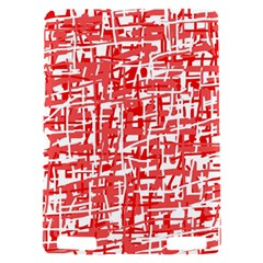 Red decorative pattern Kindle Touch 3G