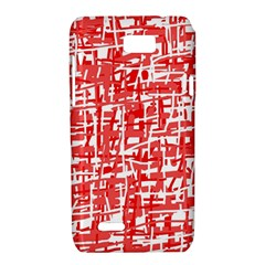 Red decorative pattern Motorola XT788