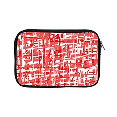 Red decorative pattern Apple iPad Mini Zipper Cases