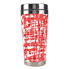 Red decorative pattern Stainless Steel Travel Tumblers