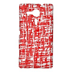 Red decorative pattern Sony Xperia SP