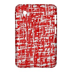 Red decorative pattern Samsung Galaxy Tab 2 (7 ) P3100 Hardshell Case