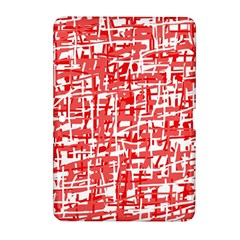 Red decorative pattern Samsung Galaxy Tab 2 (10.1 ) P5100 Hardshell Case