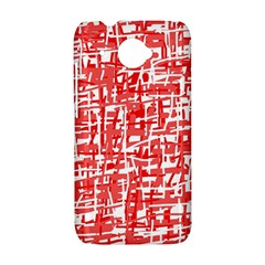 Red decorative pattern HTC Desire 601 Hardshell Case