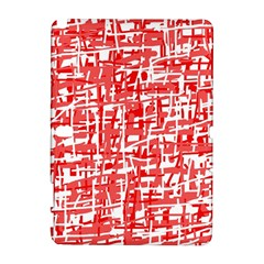 Red decorative pattern Samsung Galaxy Note 10.1 (P600) Hardshell Case